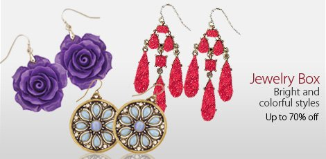 Jewelry box: Earrings