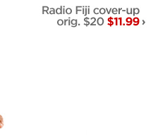 Radio Fiji cover-up orig. $20 $11.99›
