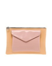 ASOS Clutch Bag With Removable Front Pocket
