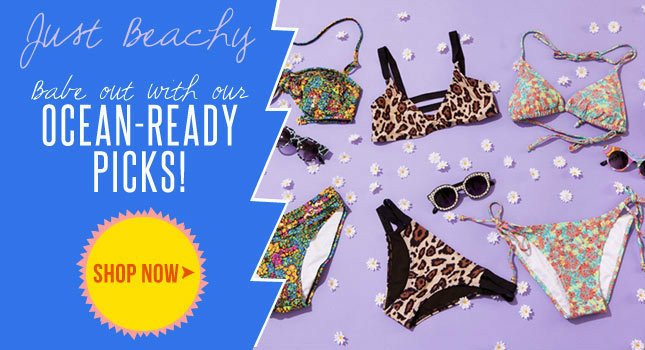 Babe out with these Swimwear Picks