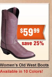 Shop Womens Old West Boots