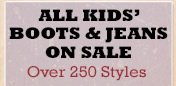 All Kids Boots and Jeans on Sale