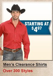 Shop Mens Clearance Shirts