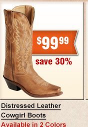 Shop Distressed Leather Cowgirl Boots