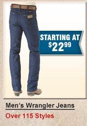 Shop Mens Wrangler Jeans