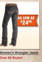 Shop Womens Wrangler Jeans