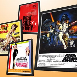 Hollywood Hits: Movie Posters