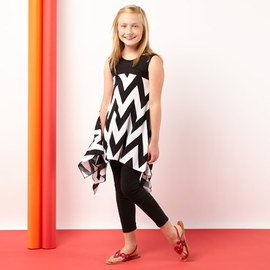 Tween Trend: Black & White Apparel