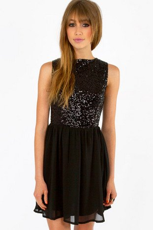 SPARKLE EVE DRESS 40