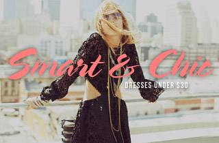 Smart & Chic: Dresses Under $30