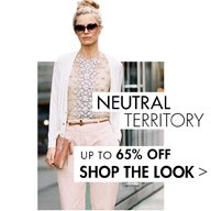 NEUTRAL TERRITORY: UP TO 65% OFF