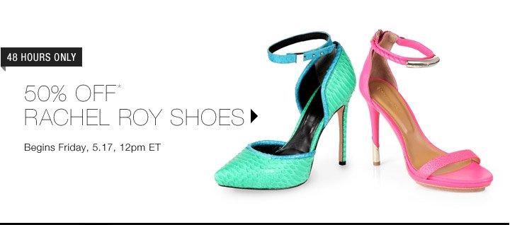 50% Off* Rachel Roy Shoes...Shop Now