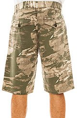 The Woodchip TS Shorts in Dark Olive