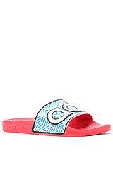 The Adilette 90's Sandal in Blaze Pink