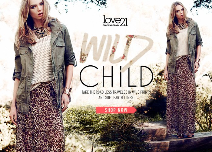 Love 21: Shop On The Wild Side - Shop Now