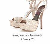 Sumptuous Diamante Heels