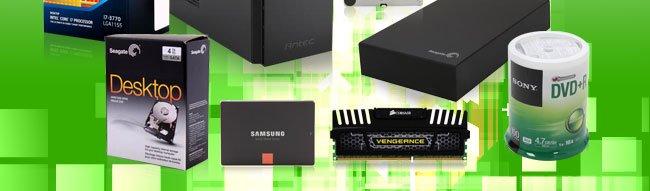 HDD, SSD, Memory, ODD