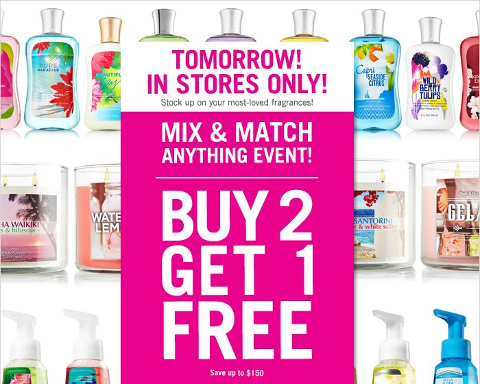 MIX & MATCH ANYTHING EVENT!