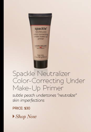 Spackle Neutralizer Color-Correcting Under Make-Up Primer - a light, pinky-peach - $30 - Shop Now