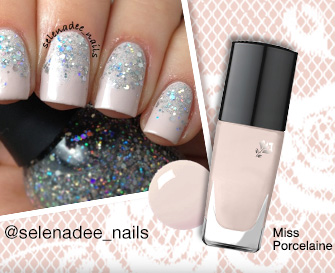 Miss Porcelaine | @selenadee_nails