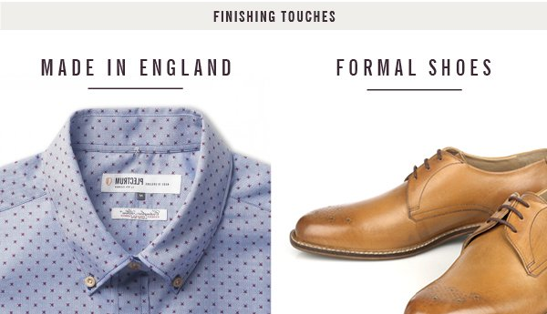Made In England and Formal Shirts