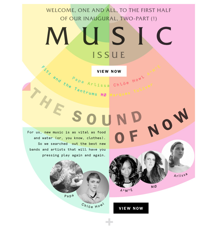Boom! The Music Issue Is Here!