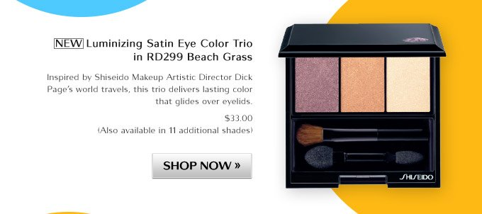 NEW Luminizing Satin Eye Color Trio in RD299 Beach Grass
