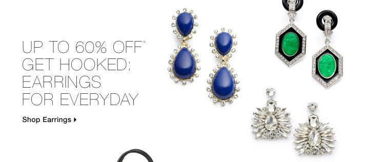 Up To 60% Off* Get Hooked: Earrings For Everyday