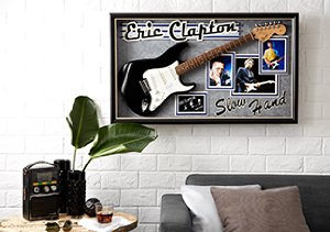 Art That Rocks: Signed Guitars