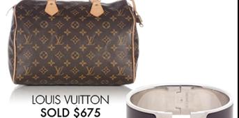 LOUIS VUITTON - $675