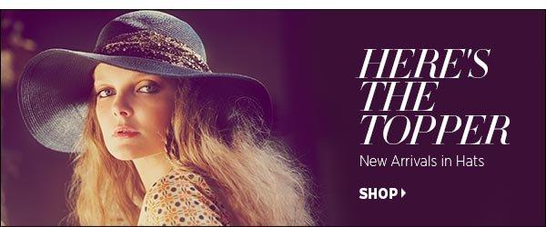 Shop Summer Hats >>