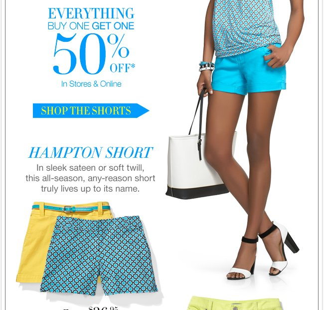 EVERYTHING Buy One Get One 50% Off + All dresses up to 50% off!