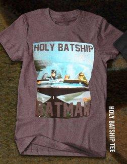 HOLY BATSHIP TEE
