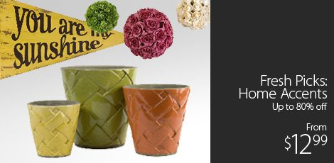 Fresh Picks Home Accents
