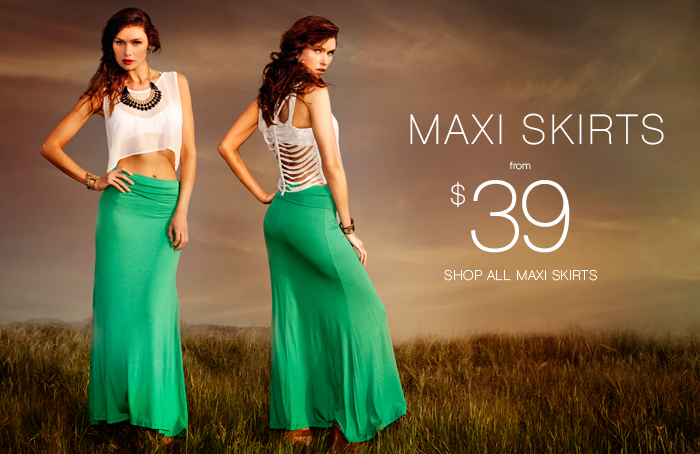 Shop All Maxi Skirts!