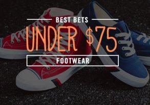 Shop Best Bets Under $75: Shoes