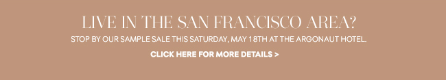 San Francisco Sample Sale