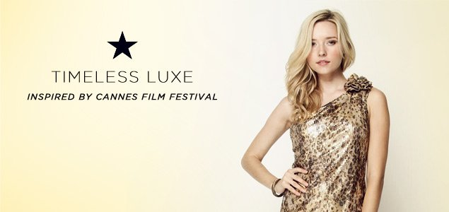 Timeless Luxe Inspired by Cannes Festival for Her