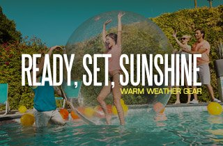 Ready, Set, Sunshine