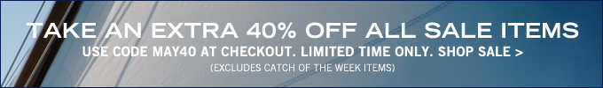 Take An Extra 40% Off All Sale Items! Shop now.