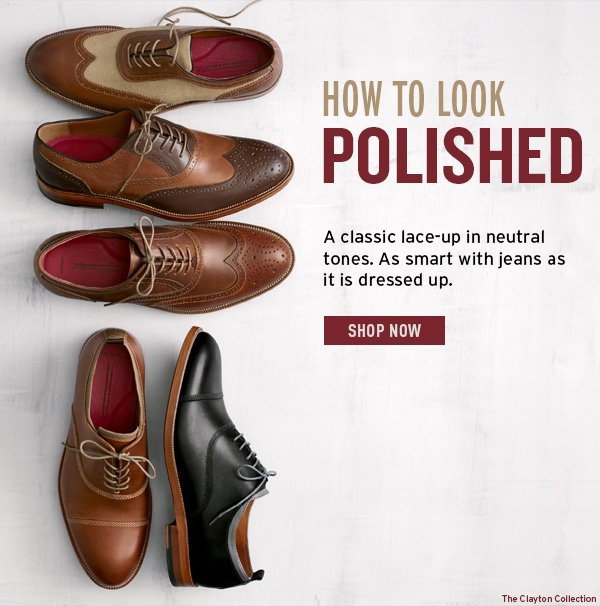 How to look polished