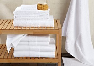 Bathroom Sanctuary: Towels & Accessories