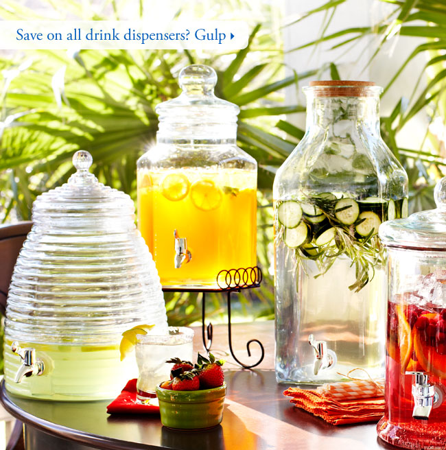Save on all drink dispensers? Gulp