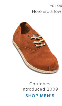 Cordones introduced 2009 - Shop Men's
