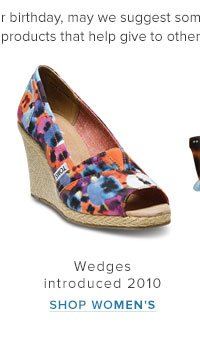 Wedges Introduced 2010 - Shop Women's