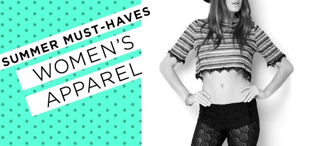 Summer Must-Haves Sale: Women's Apparel