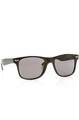 The Cyrillic Gore Sunglasses in Black