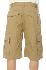 The Core Collection Classic Cargo Shorts in British Khaki