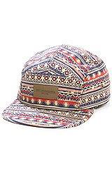 The Marrakesh 5 Panel Hat in Tan