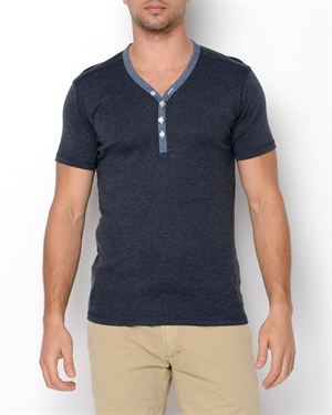 Lindbergh Two-Color Henley